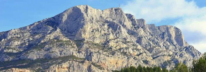 Montagne Sainte Victoire à Aix en Provence