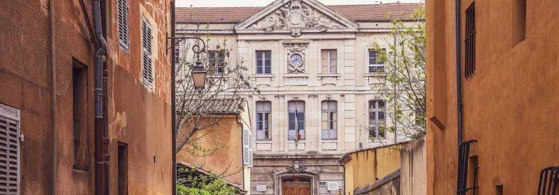 Quartier Mazarin à Aix-en-Provence