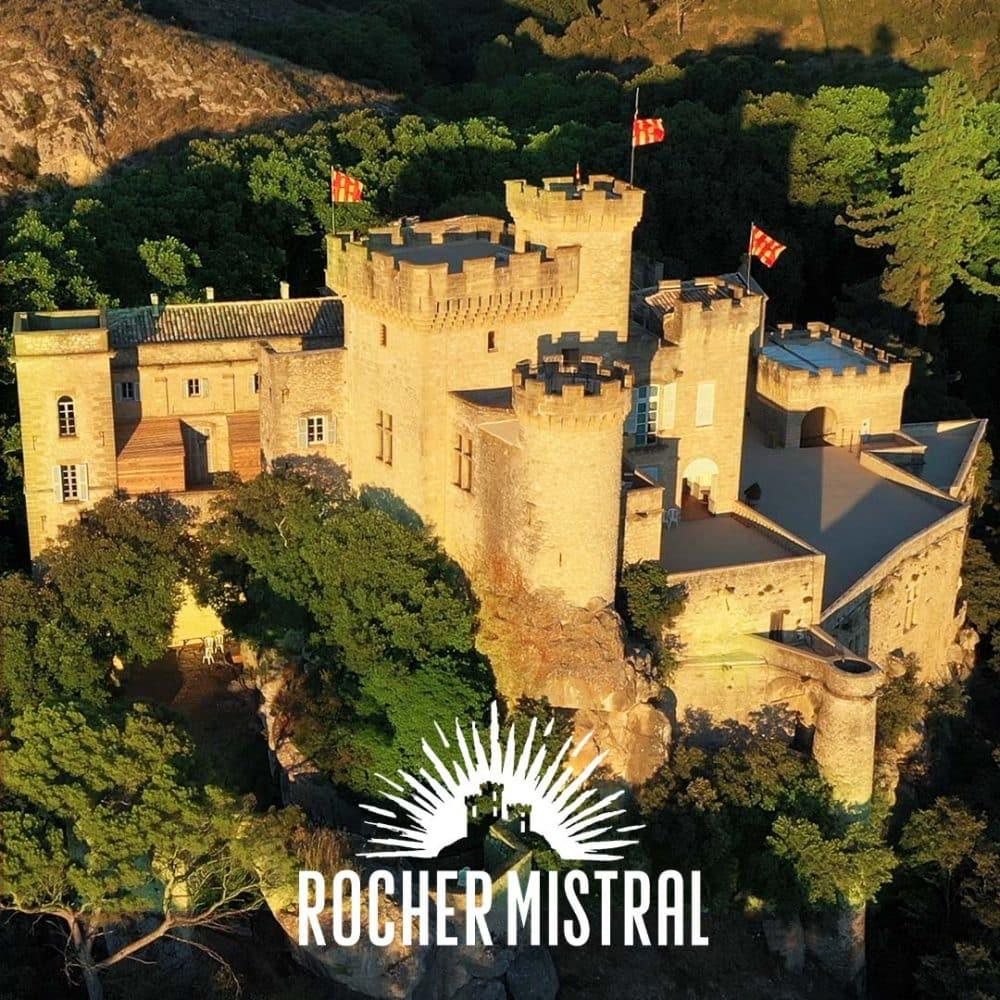Rocher Mistral au château de La Barben